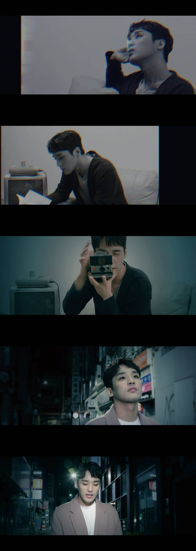 ▲ 가수 한희준이 신곡 'Starry Night'를 공개했다. 사진|뮤직비디오 캡처