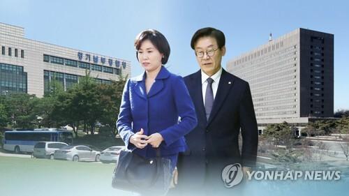 """경찰 """"'혜경궁 김씨'는 이재명 부인""""(CG) [연합뉴스TV 제공]"""