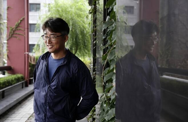 10년 만에 <와이티엔>(YTN) 앵커로 돌아온 노종면 기자. <한겨레> 자료사진.