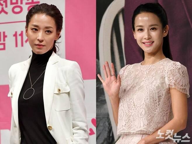 배우 한고은과 조여정 (사진=박종민 기자/자료사진)