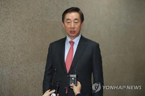 자유한국당 김성태 전 원내대표 [연합뉴스 자료사진]