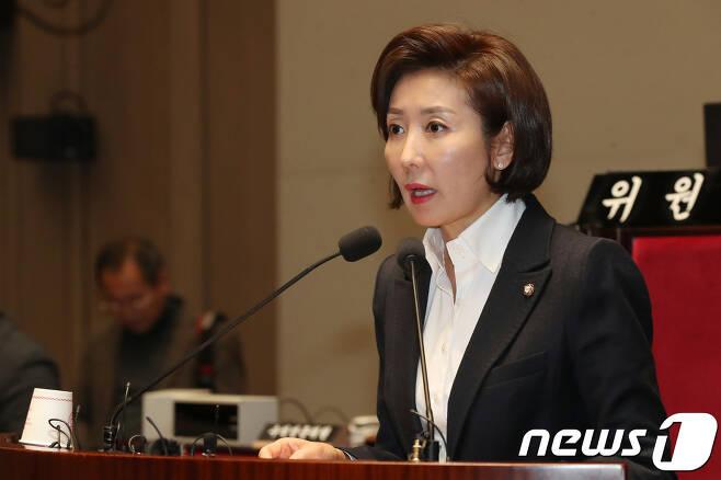 나경원 자유한국당 원내대표. © News1 임세영 기자