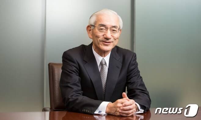 신토 고세이 일본 신일철주금 사장 (신일철주금 홈페이지) © News1