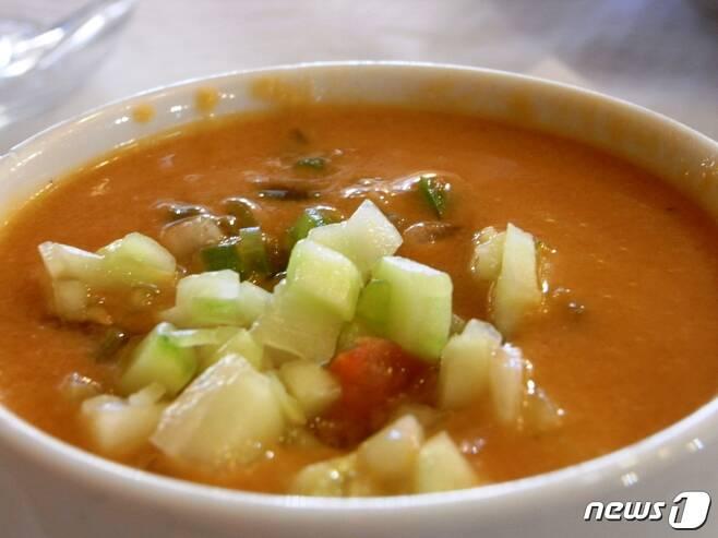 스페인 요리 가스파초 <출처=위키피디아> © 뉴스1