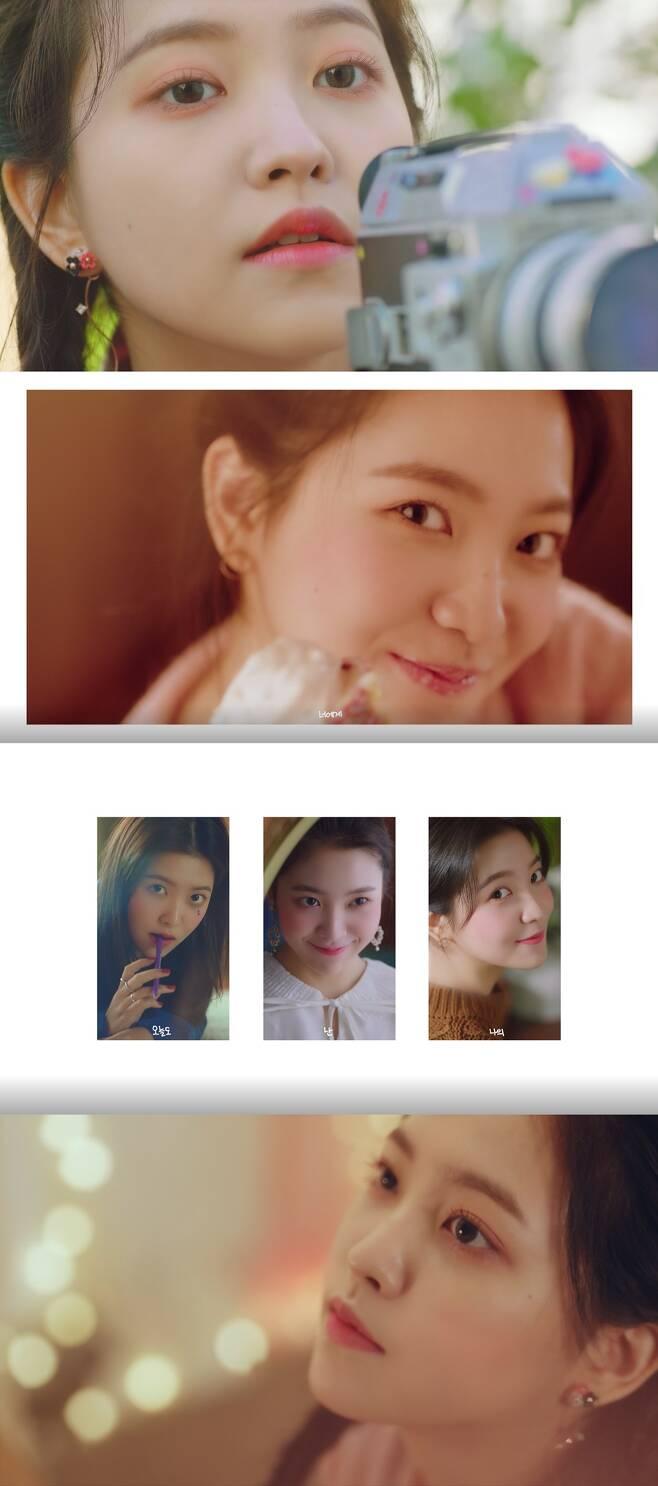 ▲ 레드벨벳 예리가 직접 작사, 작곡한 '스물에게'가 공개됐다. 뮤직비디오 캡처