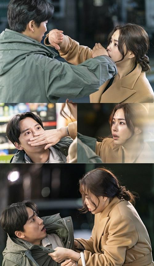 '열혈사제' 김남길 이하늬 사진=SBS '열혈사제'