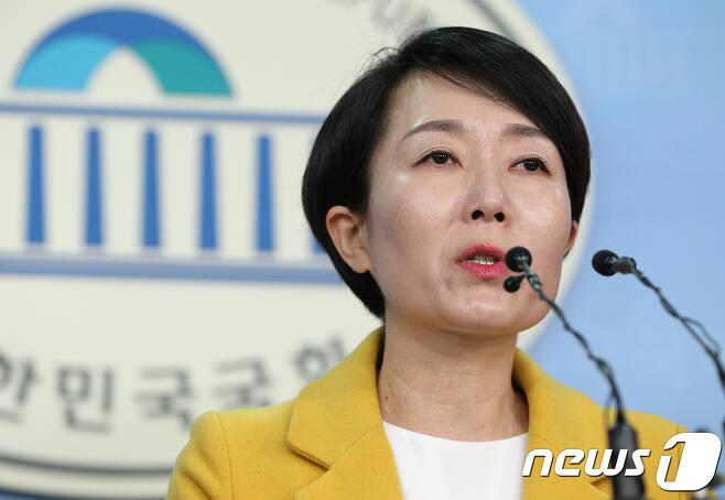 정호진 정의당 대변인. © News1 신웅수 기자
