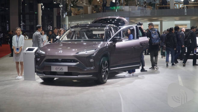 NIO가 작년 12월 출시한 중형 SUV ES6
