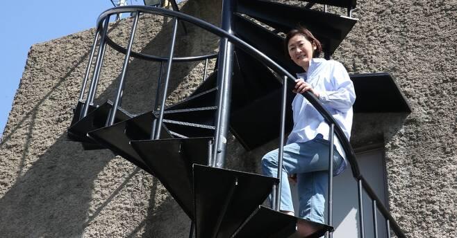박미희 감독. 박미향 기자