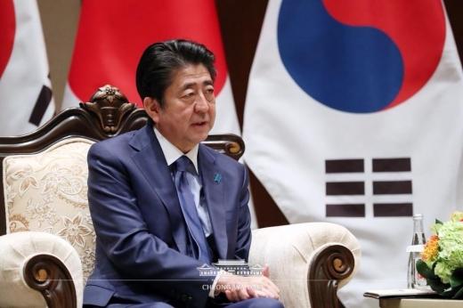 아베 신조(安倍晋三) 총리/사진=청와대 페이스북