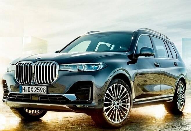BMW X7. 사진=BMW