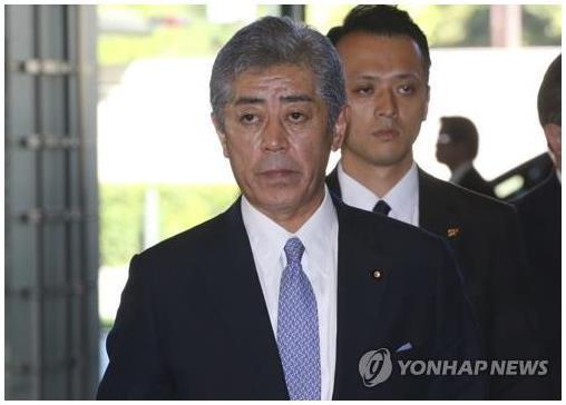 이와야 다케시 일본 방위장관. 도쿄=AP 연합뉴스 자료사진