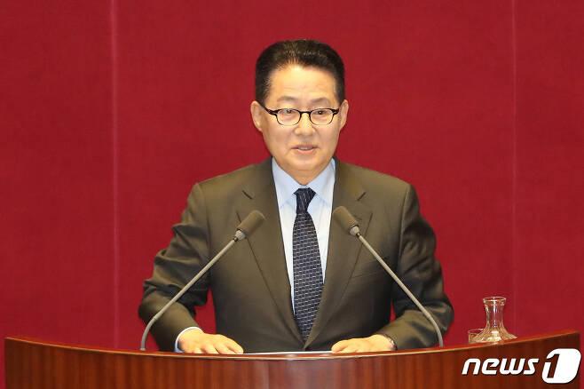박지원 민주평화당 의원.  © News1 임세영 기자