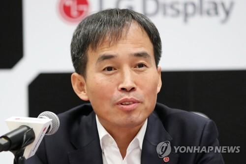 강인병 LG디스플레이 부사장(CTO) [촬영 김인철]
