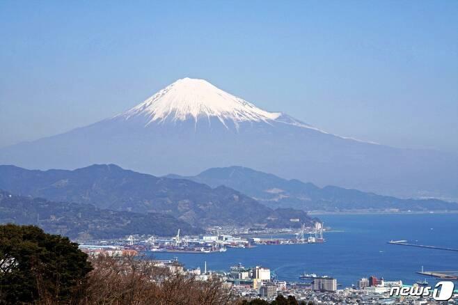 시즈오카에 있는 후지산. 일본정부관광국 제공.© News1