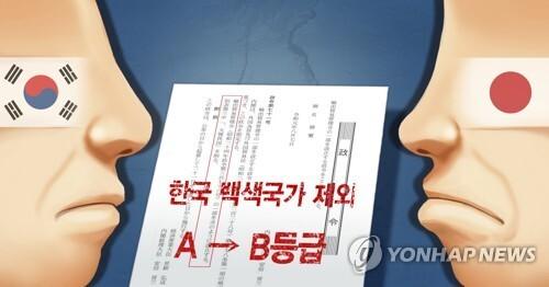 일본 '한국 백색국가 제외' 시행령 공포 (PG) [장현경 제작] 사진합성·일러스트