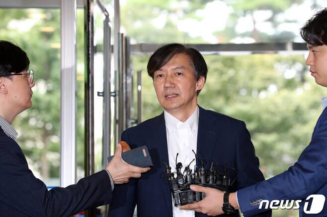조국 법무부 장관 후보자. © News1 이승배 기자