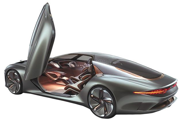 벤틀리가 설립 100주년 기념으로 만든 EXP 100 GT 콘셉트카. 벤틀리 제공