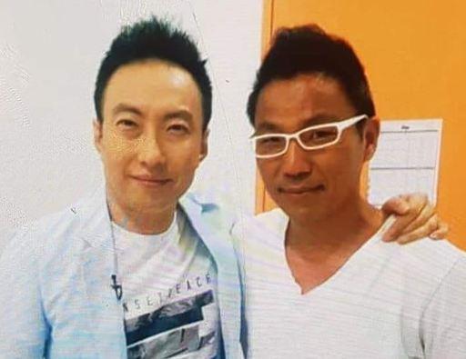 방송인 박명수(왼쪽)와 김철민.