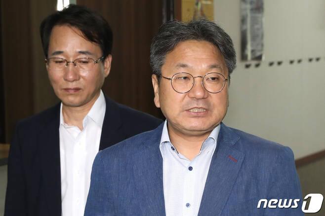 강기정 청와대 정무수석. 2019.8.23/뉴스1 © News1 임세영 기자
