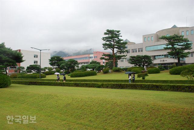 동양대 전경. 이용호 기자