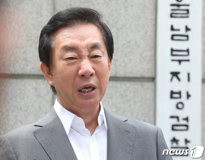 딸의 채용 청탁 의혹으로 재판에 넘겨진 김성태 자유한국당 의원. /뉴스1 DB © News1 신웅수 기자