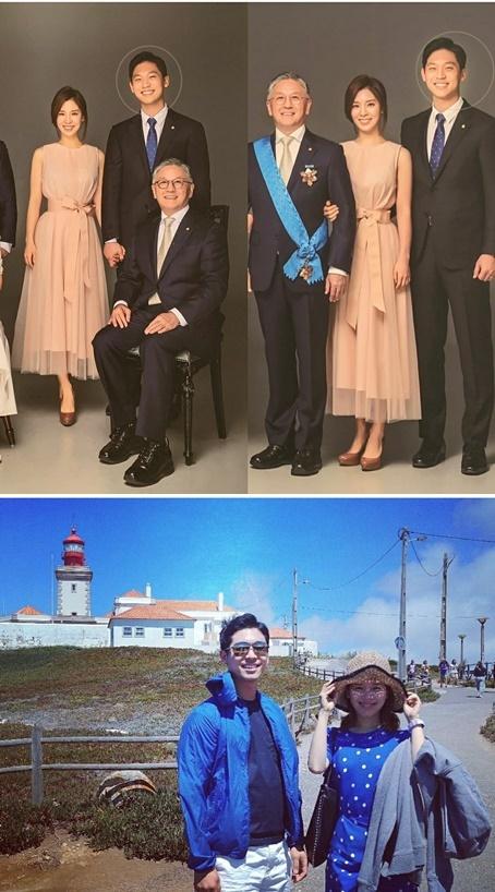 함연지와 그의 남편 / 사진= 함연지 인스타그램 사진 캡처본
