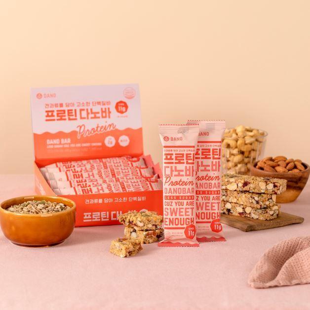 다노에서 개발한 140가지의 다이어트 식품 중 일부. 다노 제공