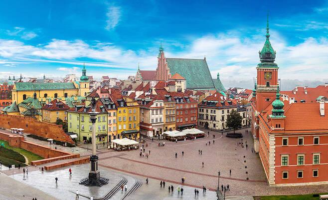 폴란드 바르샤바. 사진 스카이스캐너 제공
