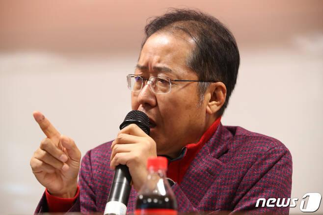홍준표 전 자유한국당 대표 2019.11.27/뉴스1 © News1 공정식 기자