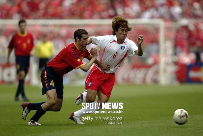 ▲ 2002년 한일 월드컵에서 4강 신화를 이끈 유상철