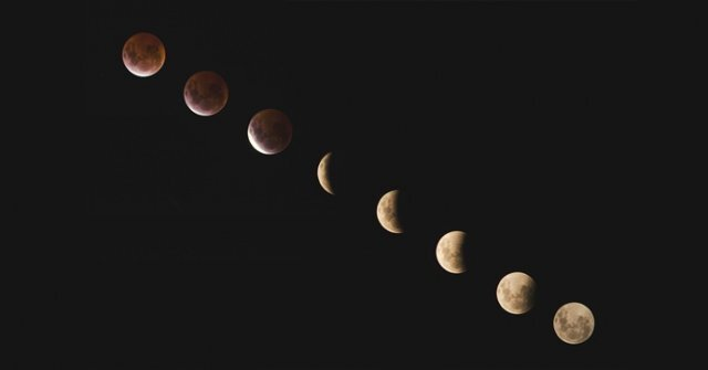 지구에서 보는 달 모양이 음력 한달 주기로 바뀌는 건 달이 지구 주위를 한바퀴 돌 때도 태양 방향은 바뀌지 않기 때문입니다.