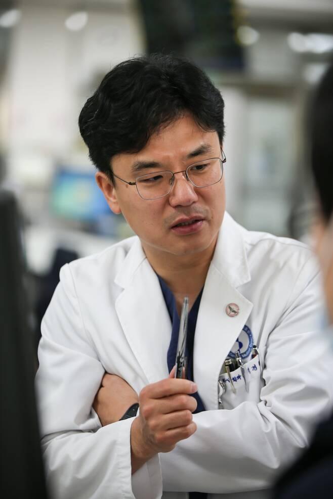 정경원 아주대병원 외상외과 과장. [사진 정경원]