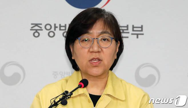 정은경 질병관리본부장./뉴스1 © News1 장수영 기자