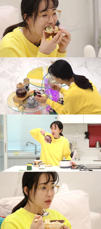 44차원 레시피를 선보이는 이유리. /사진제공=KBS 2 '신상출시 편스토랑'