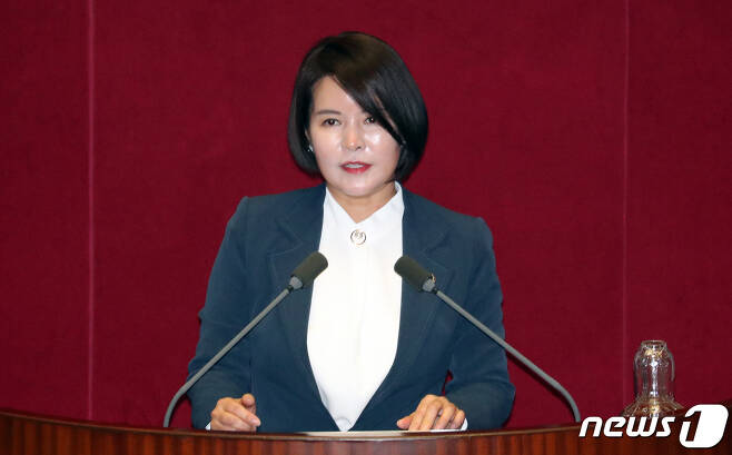 허윤정 더불어민주당 선거대책위원회 대변인. © News1 김명섭 기자
