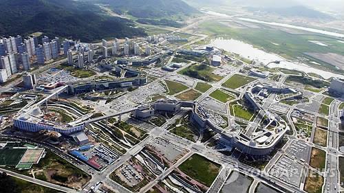 하늘에서 내려다 본 정부세종청사 모습 [연합뉴스 자료사진]