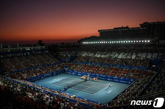 ATP투어가 코로나19 여파로 6주간 대회 중단을 결정했다. © AFP=뉴스1