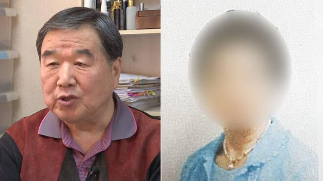 ▲ 자신의 사건이 왜곡됐다고 주장하는 사업가 정대택 씨와 윤석열 총장의 장모 최 모씨