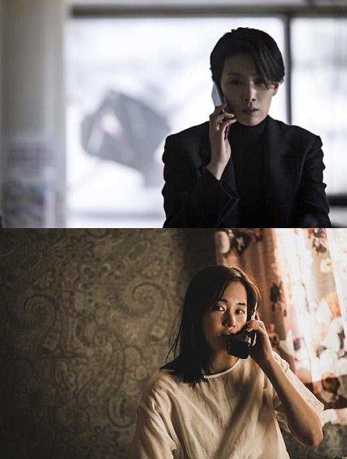 SBS '아무도 모른다' 김서형(위), 영화 '콜' 전종서. 사진   SBS, NEW 제공