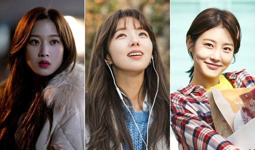 배우 문가영-채수빈-신예은(왼쪽부터). 사진제공|MBC·tvN·KBS