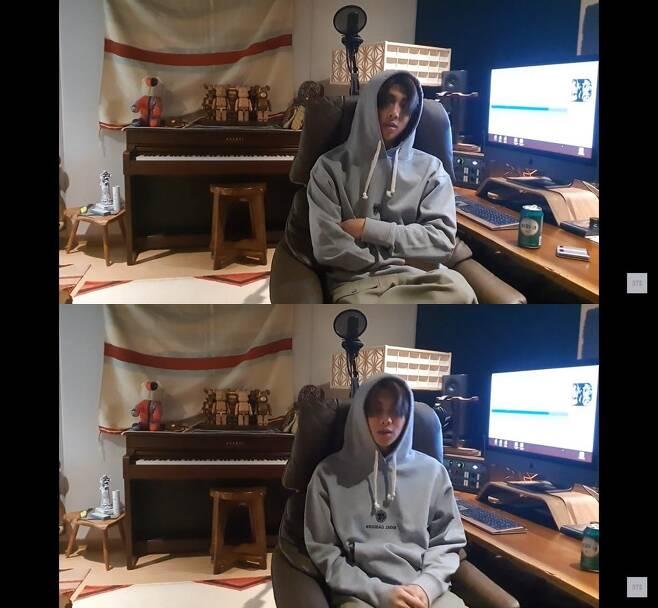 방탄소년단 공식 유튜브 생중계 캡처