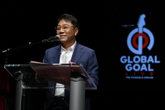 글로벌 시티즌 공연,아시아 유치 소감 밝히는 이수만 총괄 프로듀서
