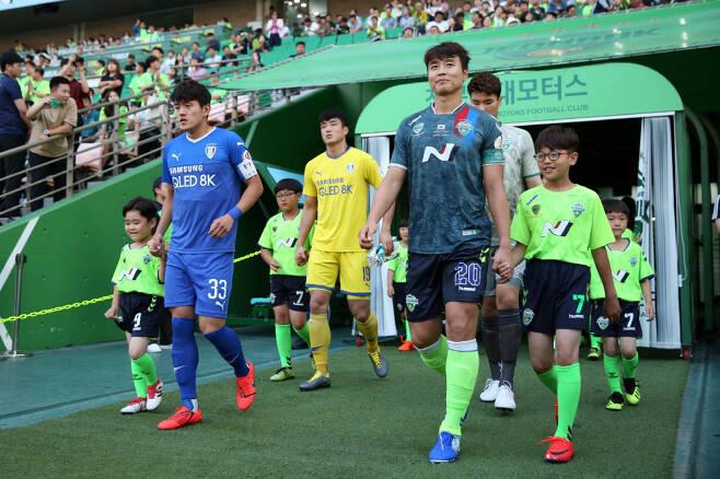 전북 수원전       사진제공=프로축구연맹