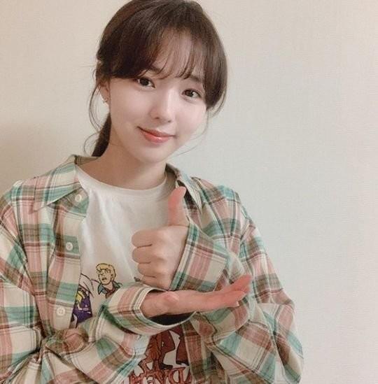 배우 채수빈이 '덕분에 챌린지'에 참여했다. 채수빈 SNS 제공
