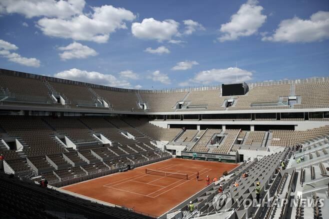 프랑스오픈 테니스 경기장. [EPA=연합뉴스]