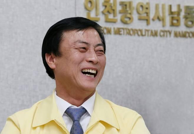 이강호 남동구청장 [연합뉴스 자료사진. 재판매 및 DB 금지]