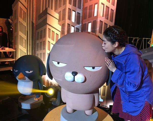강유미가 '개그콘서트' 마지막 녹화 소감을 전했다. 강유미 SNS 제공