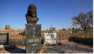 카자흐스탄에 있는 홍범도 장군 동상. 국방홍보원 제공