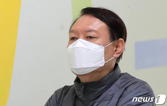 윤석열 검찰총장. 2020.4.15/뉴스1 © News1 구윤성 기자